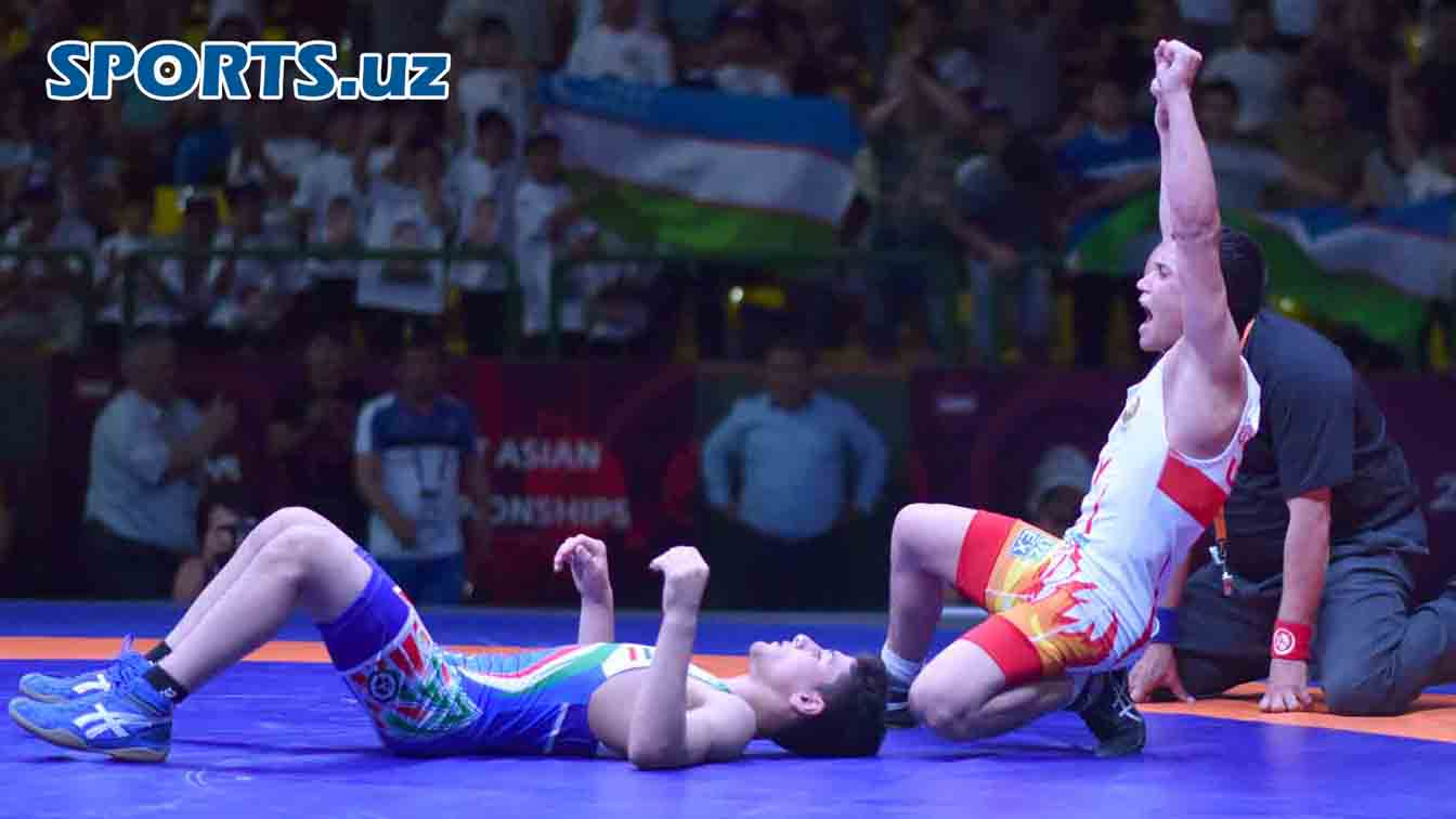 2018 Cadet Asian Wrestling Championships. Day One actions in photos