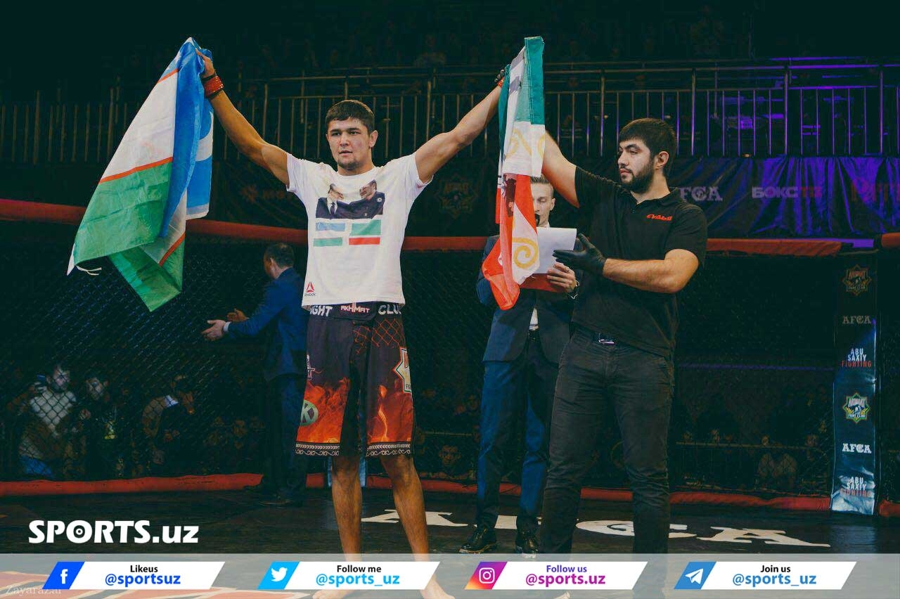 Uzbek MMA fighters succeed at the MMA Alash Pride Grand Prix in Shymkent