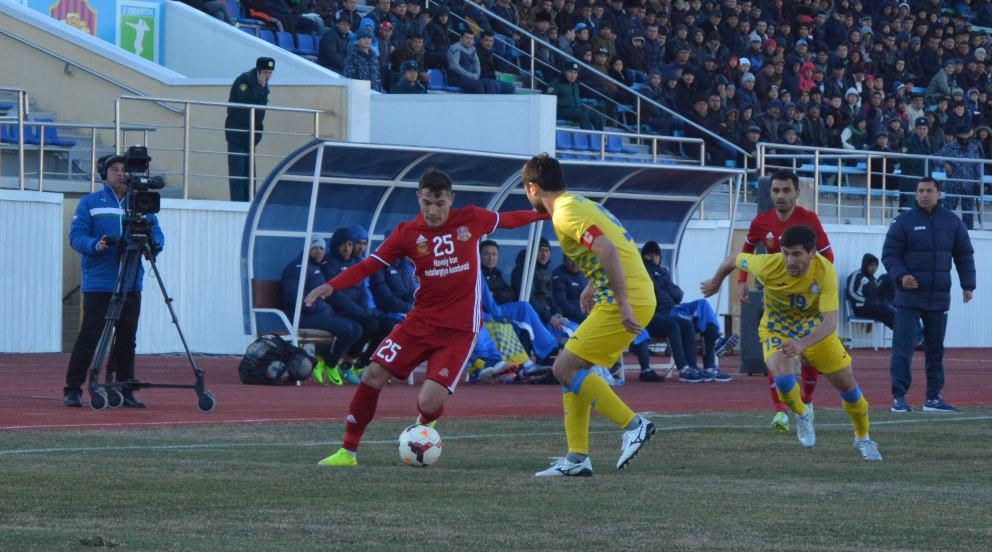 FC Kizilkum secured a victory over FC Navbahor in Matchday Second of Uzbek League