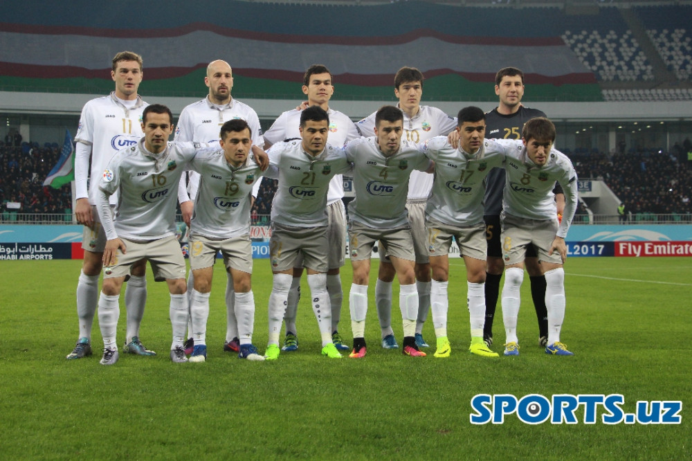 FC Bunyodkor will wear White-Grey-White kits in tomorrow's match against Zob Ahan FC