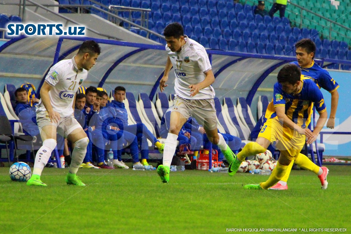 Oliy League. FC Bunyodkor have lost two points in FC Dinamo clash