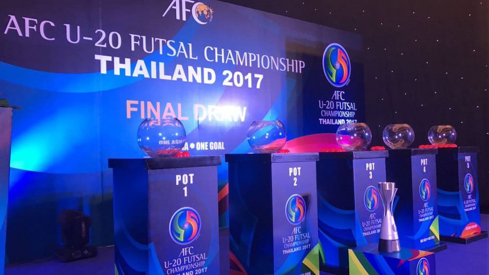 U-20 Uzbekistan national futsal team will come up against Qatar, Lebanon, Myanmar and Hong Kong in U-20 AFC Futsal Championship Thailand
