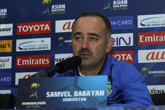Samvel Babayan: We will do our best to achieve our target - 2018 FIFA World Cup Russia