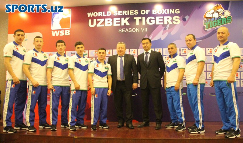 Seven undefeated boxers of Uzbek Tigers in World Series of Boxing