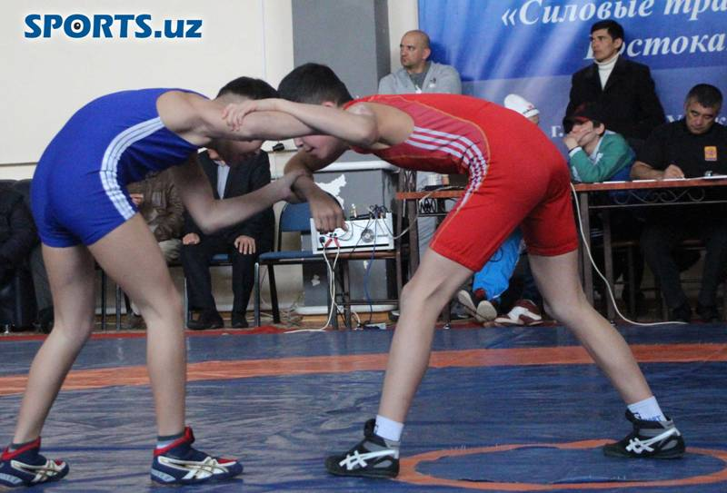 Tashkent is hosting International Greco-Roman Wrestling Tournament