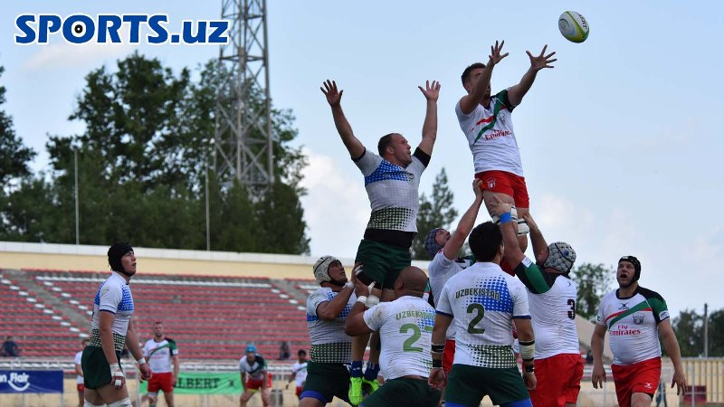 Asian Rugby Championship. Uzbekistan drew Iran national rugby team in matchday one