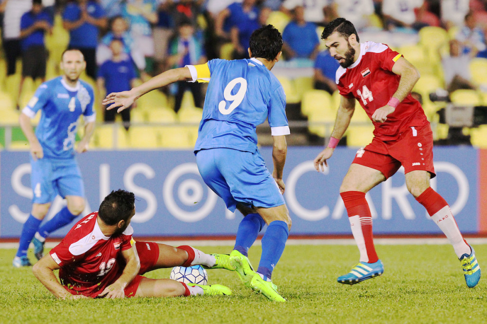 Uzbekistan national team lost to Syria in Asian Qualifiers