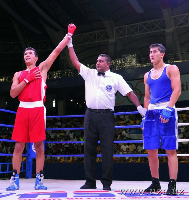 Uzbekistan's boxers started the Silk Road international boxing championship with victories