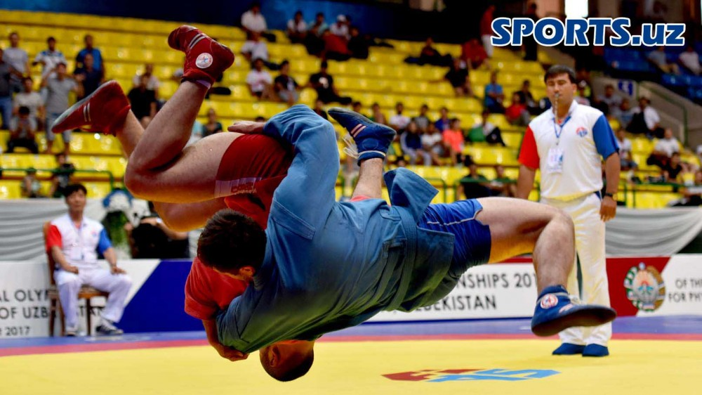 2017 Asian SAMBO Championships | Photo Gallery from Day 1 and Day 2