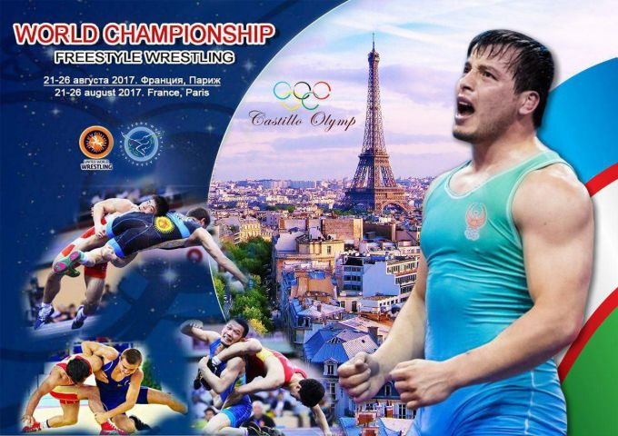 Uzbekistan's eleven wrestlers will take part in the 2017 World Wrestling Championships