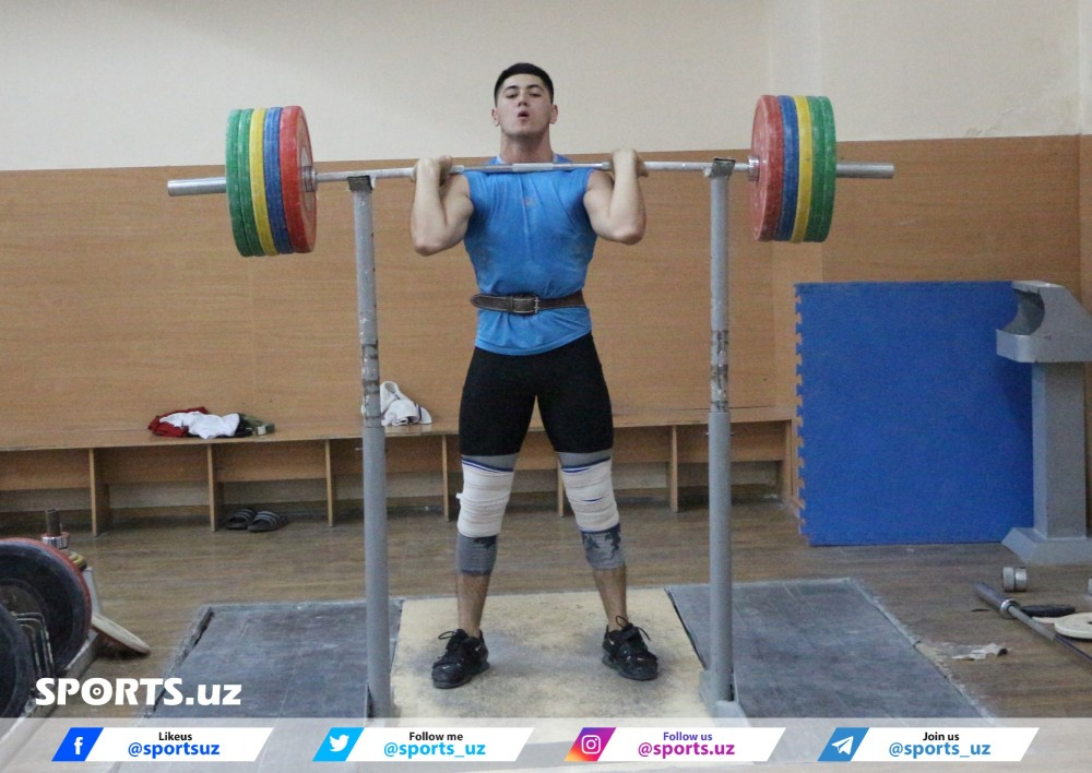 Uzbekistan national weightlifting team ready to participate in Asian Weightlifting Championships