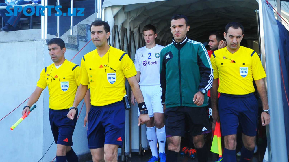 Oliy League. UzPFL has announced the list of referees for the Matchday Seven