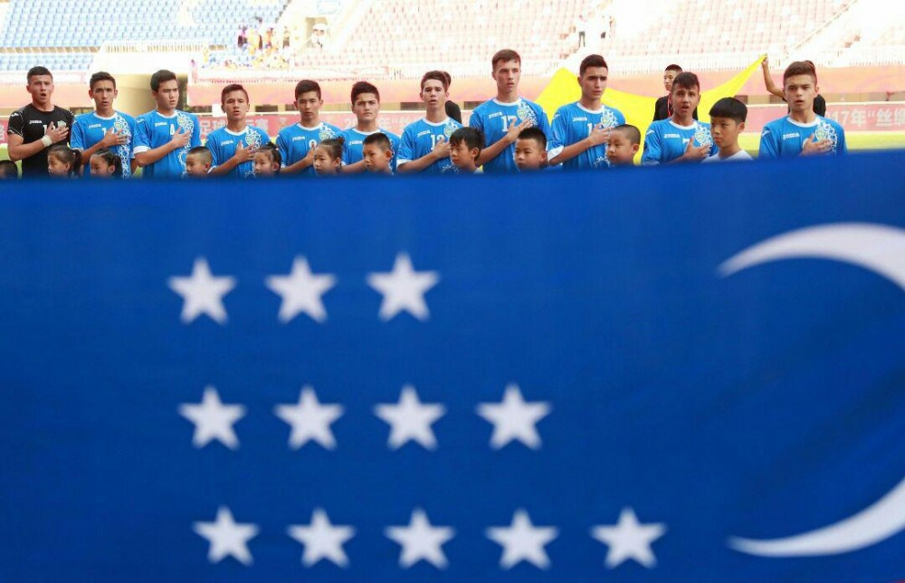 Uzbekistan U15s have celebrated their first victory in Hua Shan Cup