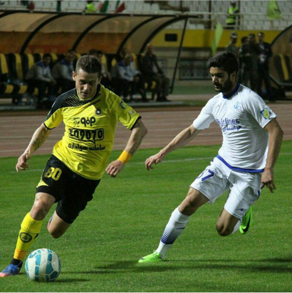 Transfer News. Server Djeparov has rejoined Esteghlal FC after his 6-month loan period at Sepahan SC