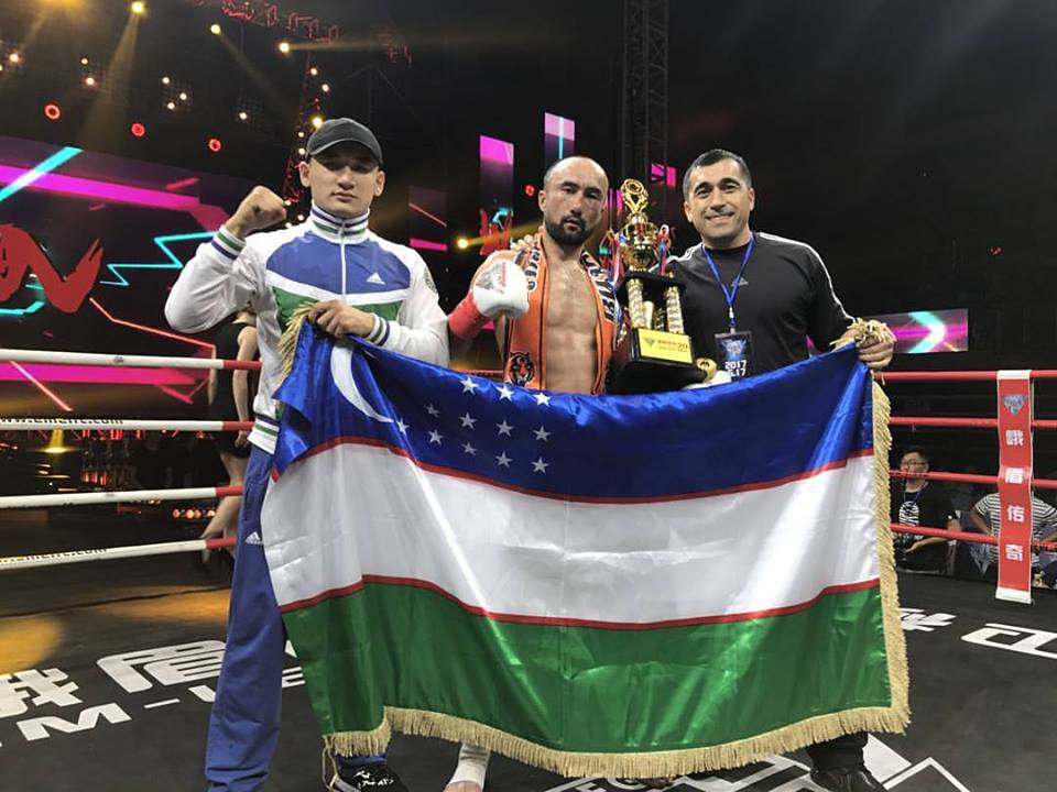 Uzbekistan's Anvar Boynazarov has booked a place in the final of EM Legend Kickboxing Championship