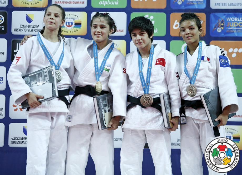 Uzbekistan's judoists took the lead in Asian Cadet Judo Championships 2017