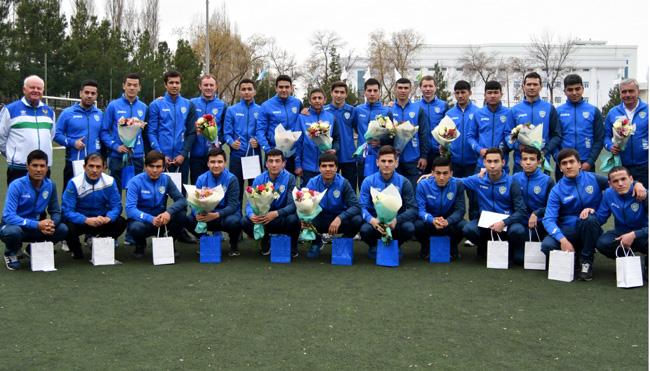 Сегодня состоялась церемония награждения сборной Узбекистана по футзалу и сборной слабослышащих